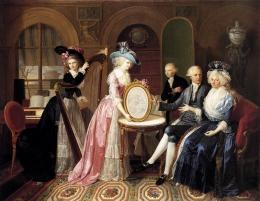 Jan Bernard Duvivier: Portrait of the Villers Family