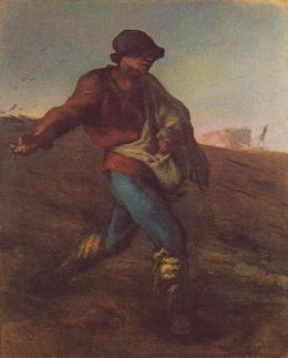 Jean-François Millet : The Sower