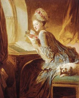 Jean Honore Fragonard - The Love Letter