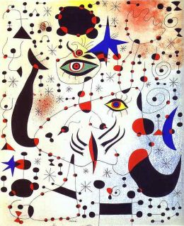 Joan Miro: Ciphers and Constellations, in Love with a Woman