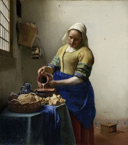 Johannes Vermeer- The Milkmaid