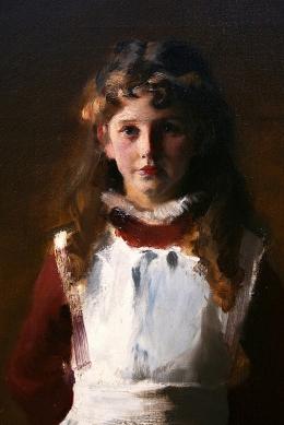John Singer Sargent - Boit Daughters , detail