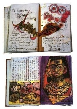 Journal by Frida Kahlo