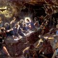 Last Supper-by Tinteretto  Italian Painter   late 1600