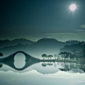Le pont de la Lune, Taipei, Taiwan.