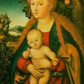 Lucas Cranach the Elder: The Virgin and Child under an Apple Tree