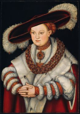 Lucas The Elder Cranach: Portrait of Magdalena of Saxony