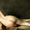 Lying Female Nude - Jenny Nystrom 1854-1946
