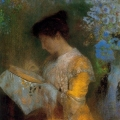 Madame Arthur Fontaine - Odilon Redon