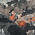 Mansheng Wang, Lotus Pond in Summer