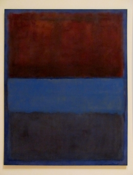 Mark Rothko: No. 61 (Rust and Blue) [Brown Blue, Brown on Blue]