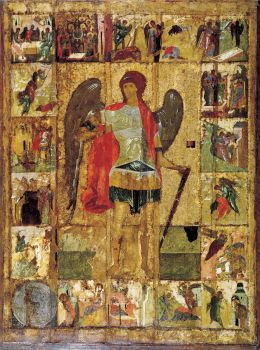 Michael the Archangel. The cathedral icon of the Archangel Cathedral in the Moscow Kremlin