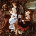 Michelangelo Caravaggio: Rest during the flight into Egypt