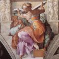 Michelangelo - Sistine Chapel Ceiling: Libyan Sibyl