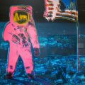 'Moonwalk 1' by Andy Warhol, 1987 (silkscreen on paper)