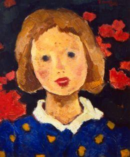 Nicolae Tonitza - Portret de fetita