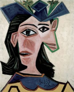 Pablo Picasso: Bust of Woman with Hat