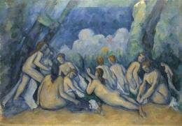 Paul Cézanne - Bathers (Les Grandes Baigneuses)