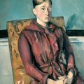 Paul Cézanne: Madame Cézanne in a Yellow Armchair