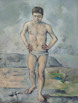 Paul Cézanne: The Bather