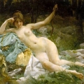 Paul Francois Quinsac (b. 1858) - Nude, 1894
