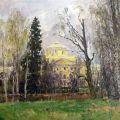Pavlovsk. The palace of the Emperor Paul I