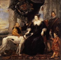 Peter Paul Rubens: Portrait of Lady Arundel with her Train