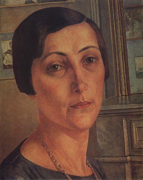 Portrait of Andronikova-Halpern, 1925 -  Zinaida Serebriakova