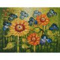 Real Handmade Van Gogh Sunflower Oil painting