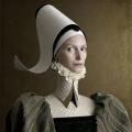 Renaissance Portraits by Christian Tagliavini - Portrait of a Lady in Green