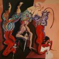 Rokni Haerizadeh - Dagger Dance  [ Unveiled: New Art From The Middle East ]