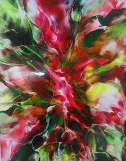 Rosebud Abstract