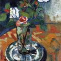 Roses in a Vase - Suzanne Valadon - WikiArt.org
