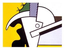 Roy Lichtenstein: Bull Heads II