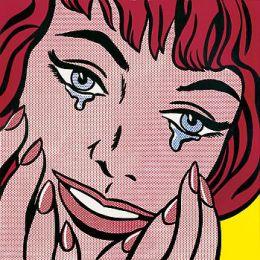ROY LICHTENSTEIN- Happy Tears