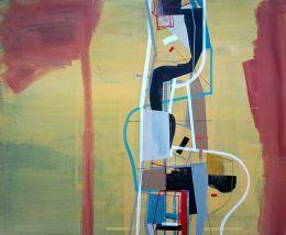 """Saatchi Art Artist: Jim Harris; Acrylic 2015 Painting """"Für Immer."""""""