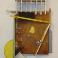 "Saatchi Online Artist: Carlo Grassini; Other,  Assemblage / Collage ""Red Line"""