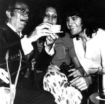 SALVADOR DALÍ y LUIS GARCÍA MOZOS. Barcelona, 1972