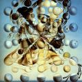 Salvador Dali, Galatea of the Spheres, 1932, Oil on Canvas