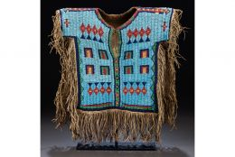 Sioux boys beaded shirt