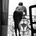 Sophia Loren in Cannes, photographed by Edward Quinn (1955)