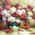 Stefan Luchian - Crizanteme (pastel)