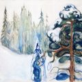 The Athenaeum - Winter (Edvard Munch - )