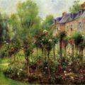 The Rose Garden at Wargemont - Pierre-Auguste Renoir - WikiPaintings.org