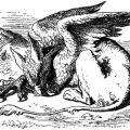 The Sleeping Gryphon, 1865 ~ John Tenniel