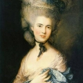 Thomas Gainsborough: Portrait of a Lady in Blue