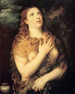 Titian: Penitent Magdalene