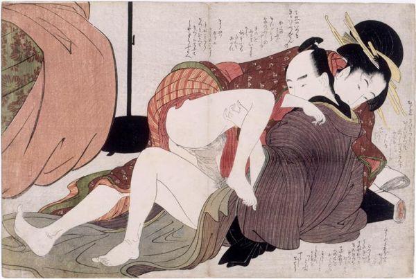 Utamaro Kitagawa Wallpaper, Art Print, Poster