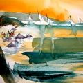 Watercolor Painting: Featured Artist Archives - Tom Fong (