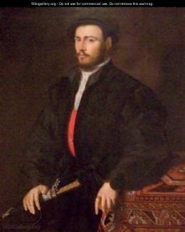 Willem Adriaensz Key - Portrait of a Young Nobleman